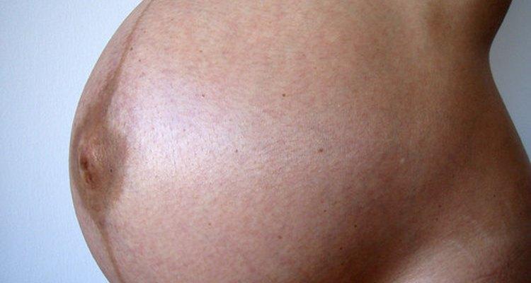 Quedas durante a gravidez raramente afetam o bebê