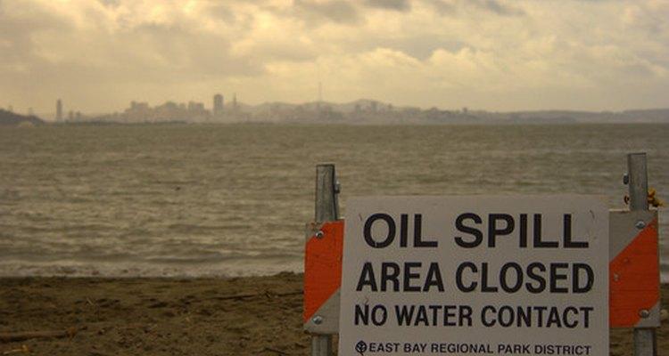 Derramamentos de petróleo têm prejudicado tanto o bioma tundra quanto a vida marinha