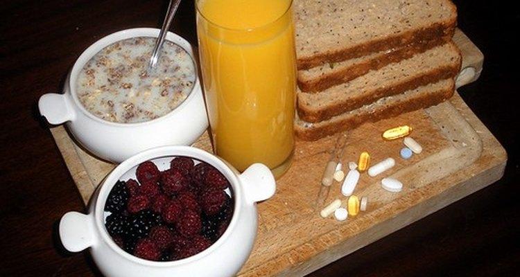 Uma dieta balanceada pode suprir as necessidades diárias de vitamina