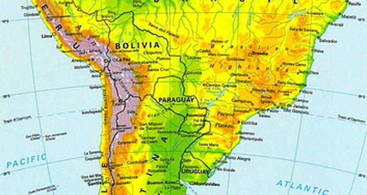 América del Sur es el hogar de muchos tucanes.