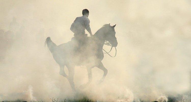 Montar a cavalo era um exercício comum