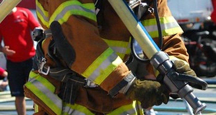 Requisitos de formación de bombero.