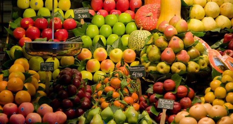 Frutas são uma parte saudável de uma dieta pobre em proteína