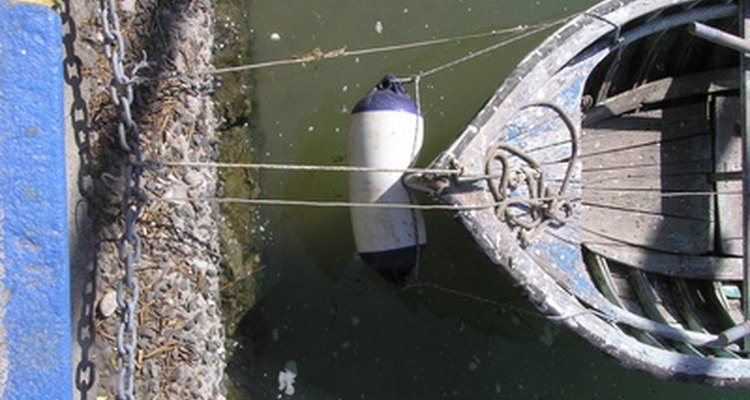 Boat fenders can become soiled with dock debris and marine growth.