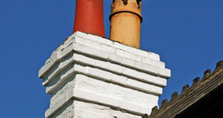Chimney pots were most widely used when homes were heated by coal.
