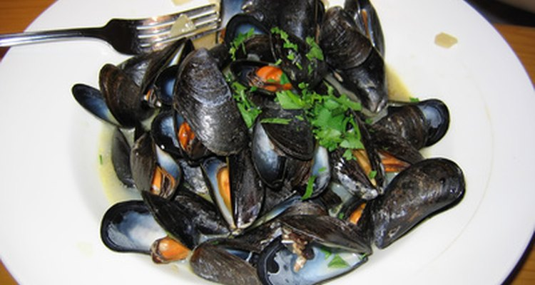 Mussels make a delicious meal but need to be cooked thoroughly