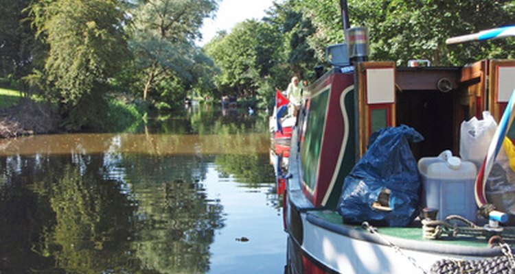 Canal boats often have coal-burning stoves.