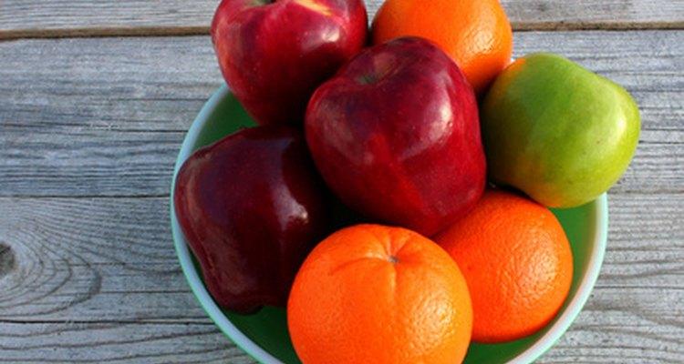 As frutas são uma fonte saudável de vitaminas