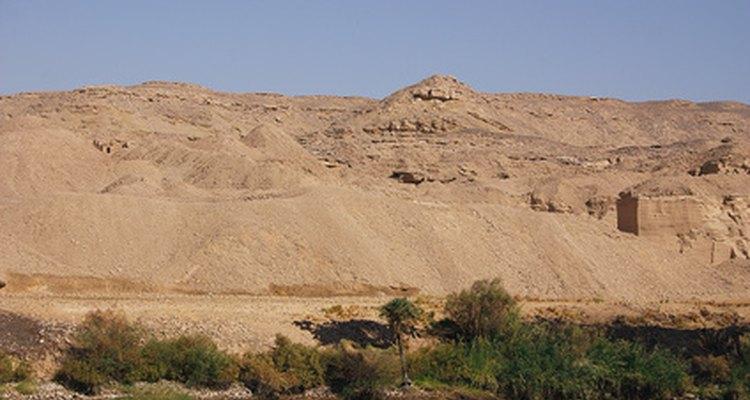O Saara ocupa quase um terço do continente africano