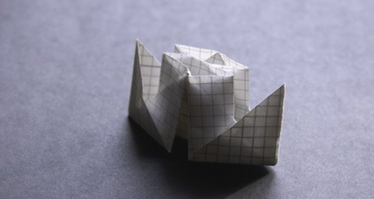 Making things with origami is easy and fun.