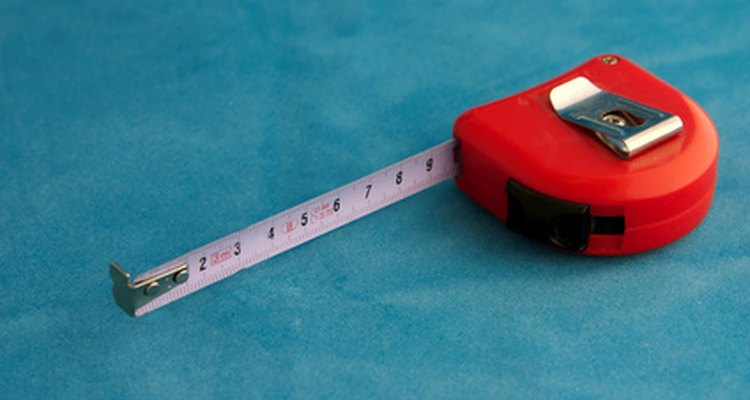 It's easiest to get the dimensions for a cubic metre calculation with a metric ruler.