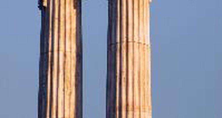 Faça suas próprias colunas gregas