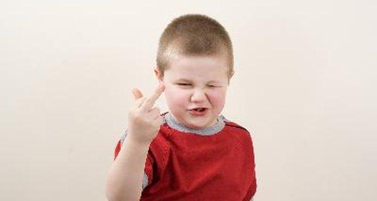 Las acciones inapropiadas por parte de tus hijos puede ser un signo de necesidad.