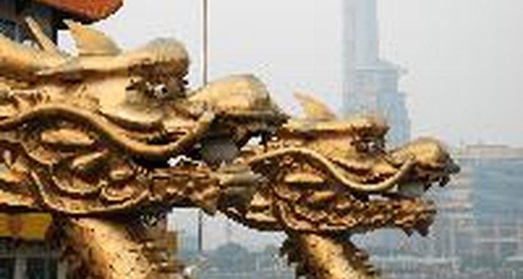 Dragones chinos.