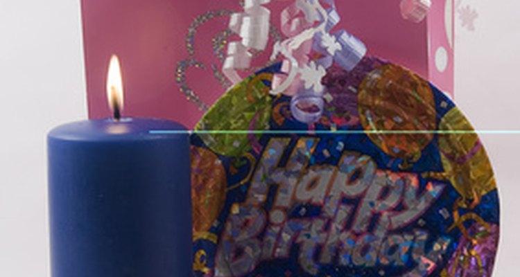 Existem muitas maneiras de criar uma homenagem de aniversário