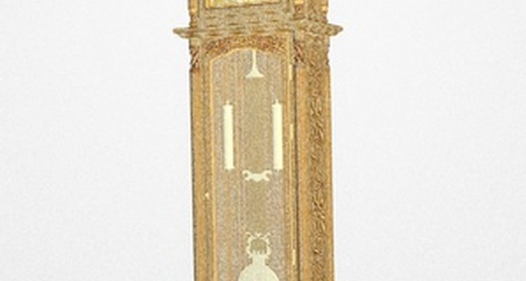 Level a grandfather clock so it can operate correctly.