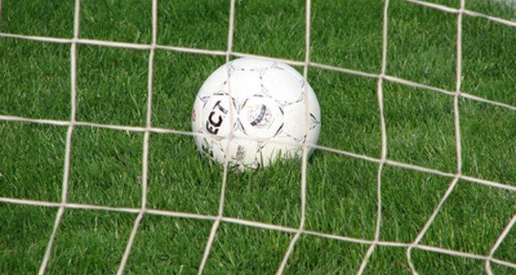 Marcar um gol é o trabalho de um atacante