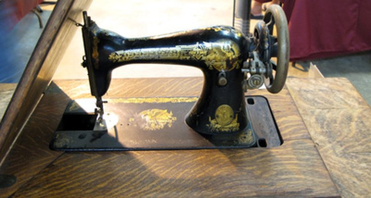 Restoring a treadle sewing machine returns it to its orignal beauty and function,