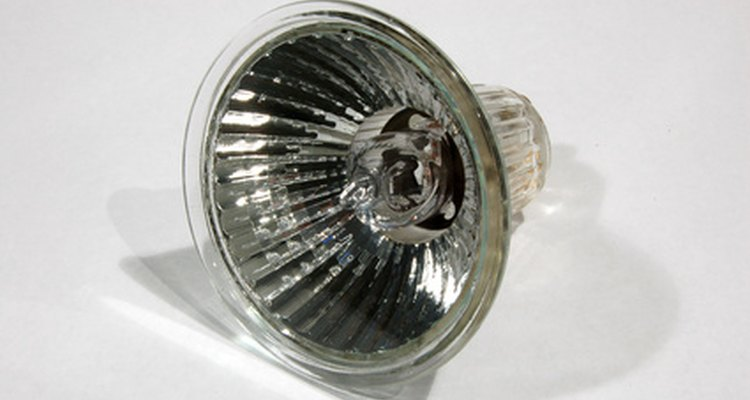 Halogen bulbs differ from regular bulbs in temperature and brightness.