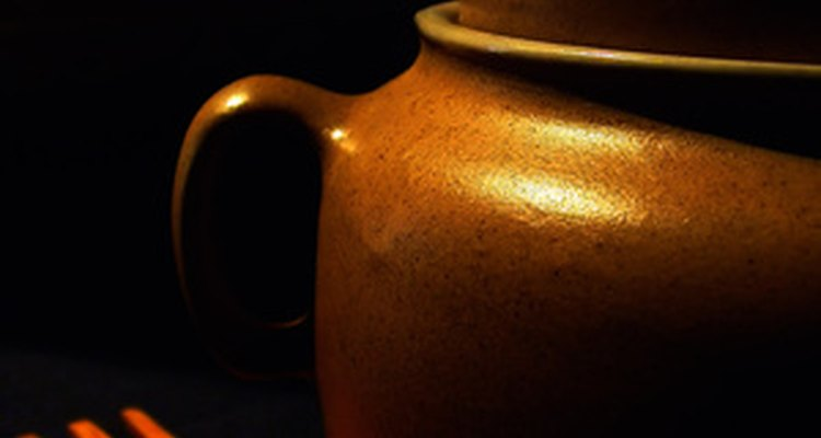 In ancient Greece, pottery was commonly used in daily life.