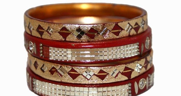 Los brazaletes han sido encontrados en muchos sitios arqueológicos en la India.