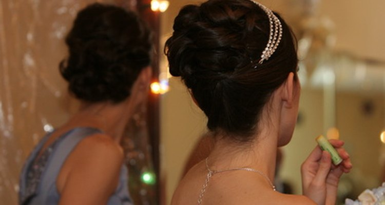 Putting the hair up indicated that a girl had reached maturity.
