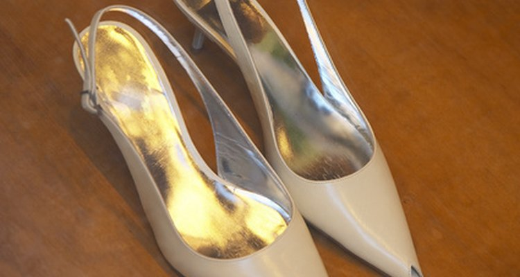 Slipping straps on slingbacks are irritating, uncomfortable and can cause a wearer to trip and fall.