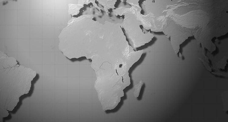 A Terra consiste de várias camadas