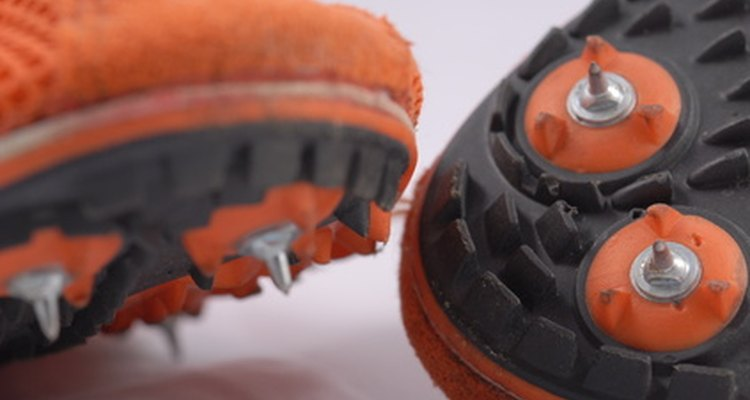 Change out your shoe spikes regularly to avoid spikes that are worn and difficult to remove.
