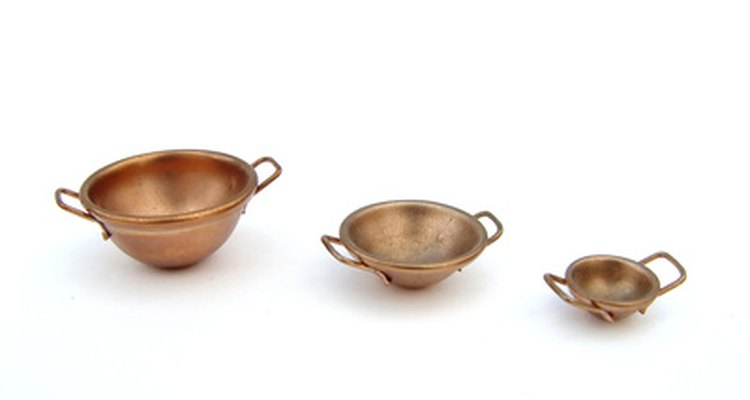 Copper bowls can be a hot item at cookware shows.