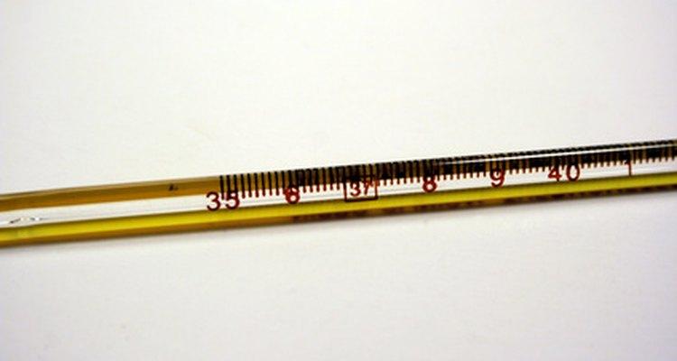 Os termômetros medem a temperatura do ar, da comida e das pessoas.
