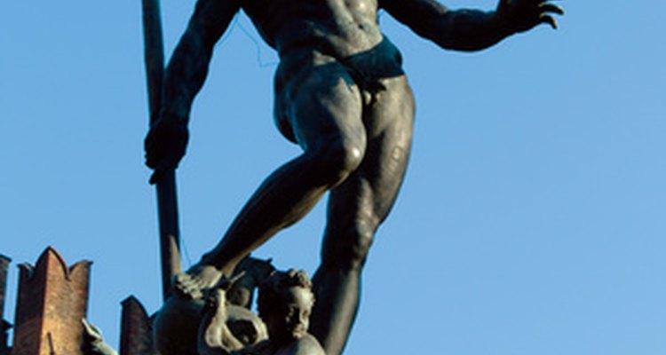 Poseidon casou-se com Anfitrite, mas foi pai de outras crianças