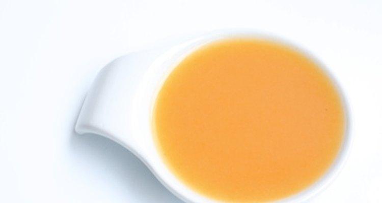 Adicione mais líquido à sopa se necessário
