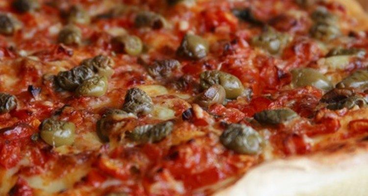 A salsicha italiana é uma cobertura de pizza bem popular