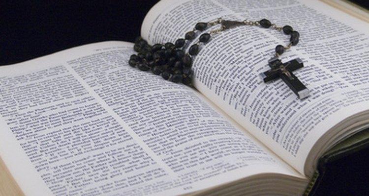 Para los cristianos la Biblia es palabra de Dios.