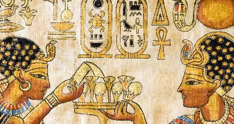 Gold ornamentation was a beloved part of Ancient Egyptian culture.