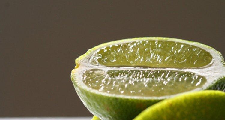 A fresh, juicy lime