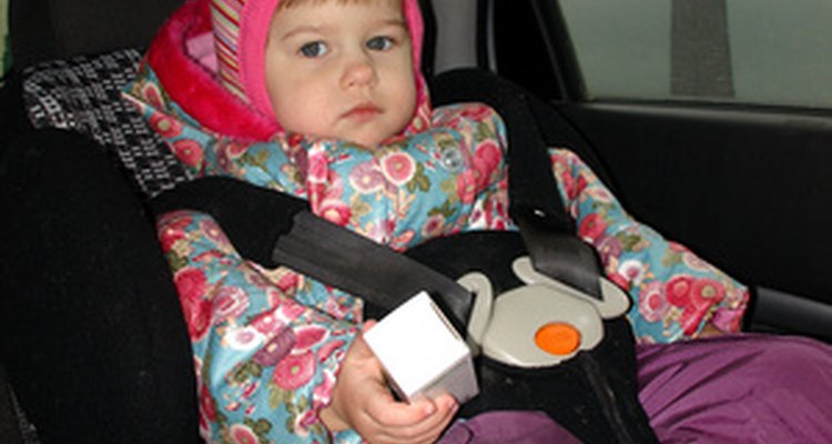 Spanish law regulates child car seats based on a child's age and weight.