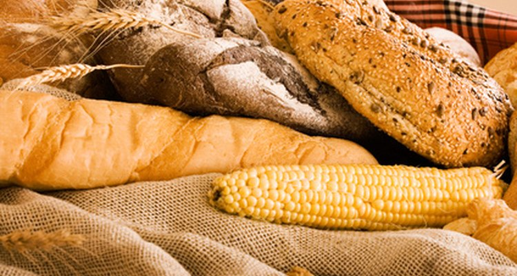 A farinha de linhaça ou de coco dará uma perfeita textura ao pão