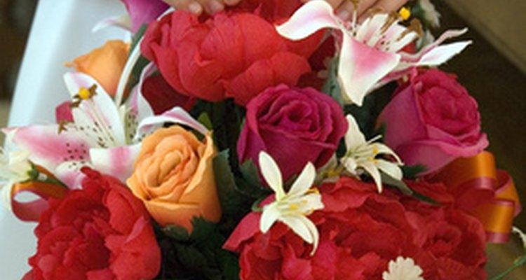 La tradición de las canastas de flores comenzó en la era victoriana.