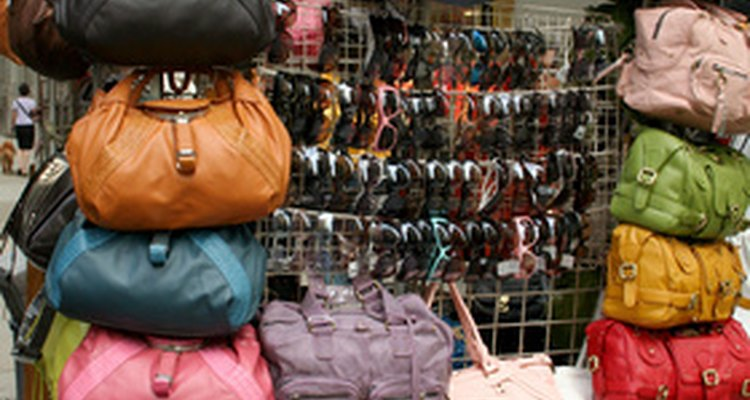 There are lots of fake designer bags in the marketplace.