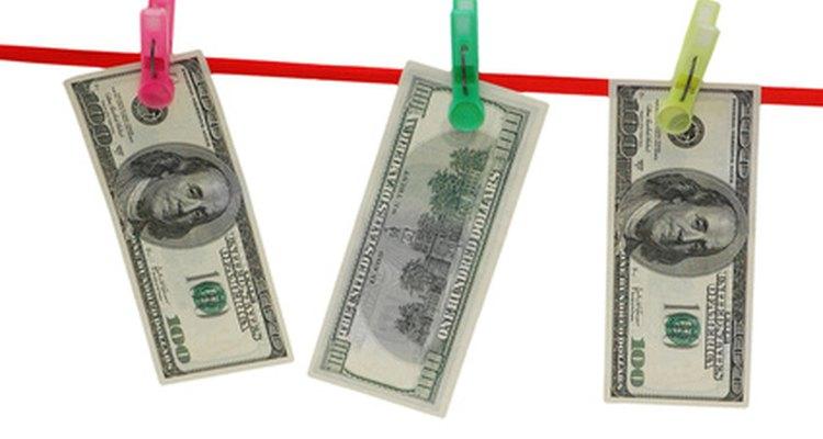 El lavado de dinero es un delito grave de diversos grados.