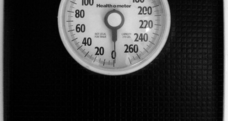 A scale should not be the only method used to determine your puppy's weight.