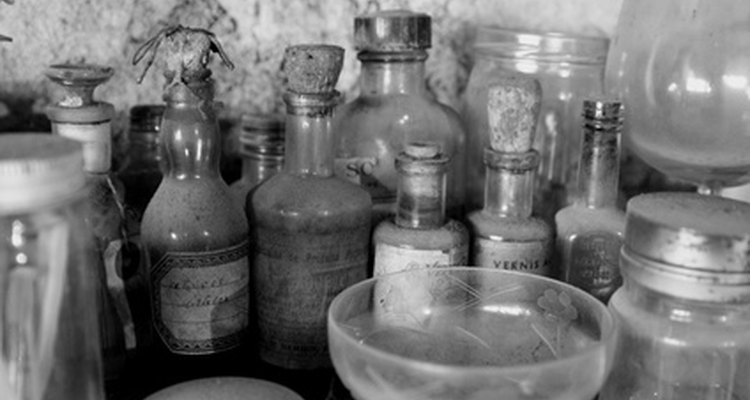 Os frascos existem em todas as formas e tamanhos.