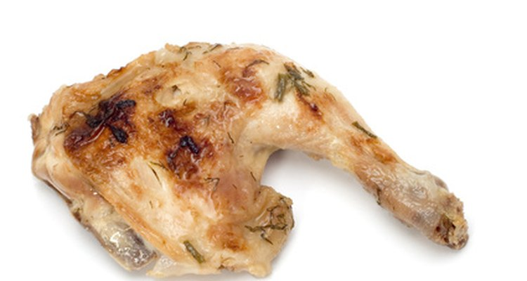 Leftover bones from cooked chicken have a variety of different uses.