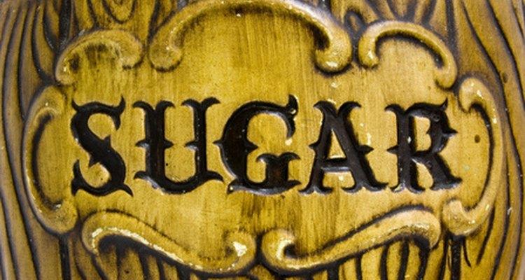 O açúcar vem de plantas: ou da beterraba, ou da cana de açúcar
