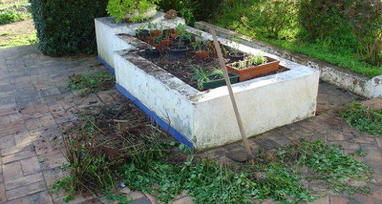 Las terrazas levantadas hacen que el dolor de cintura por hacer jardinería desaparezca.