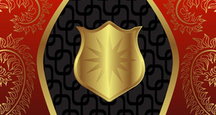 Muchos escudos de armas portan los lemas familiares.