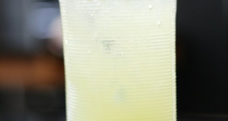 Lemonade or lemon juice is quite acidic.