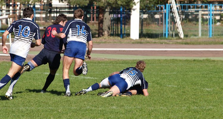 The tackle is one of the most dangerous aspects of rugby.